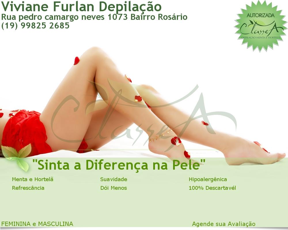 SEMPRE LINDA DEPILAÇÃO - VIVIANE FURLAN
