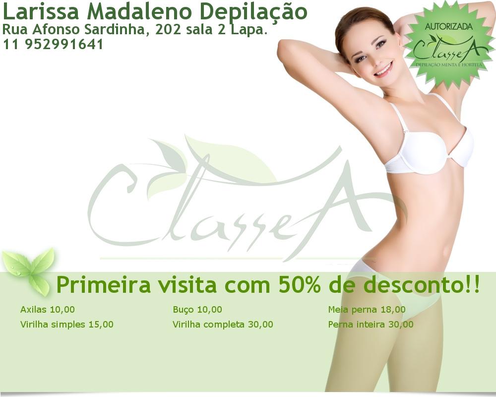 Larissa Madaleno Depilação