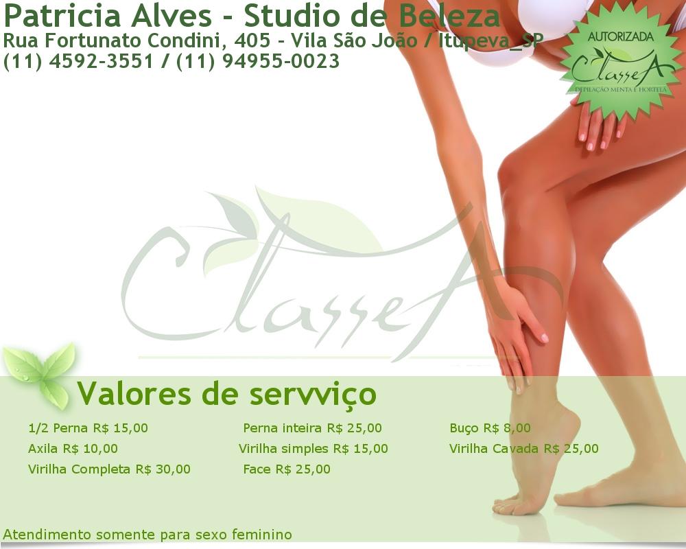 Patricia Alves - Studio de Beleza