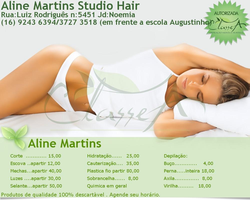 Aline Martins Studio Hair
